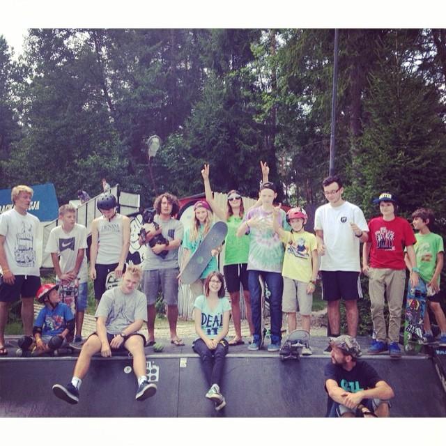 Instagram - Dzien Mality na Woodcampie ruszyl! Pozdrawiamy grupę początkująca !