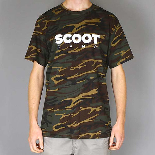 T-shirt SCOOTCAMP ICON camouflage