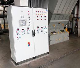 Aparatura Kontrolno Pomiarowa i Automatyka do kotła wodnego WR