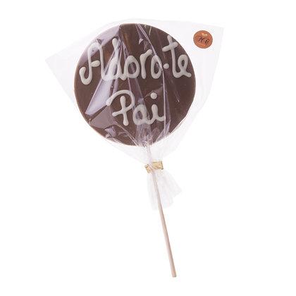 Chupas de Chocolate personalizados - Especial Dia do Pai