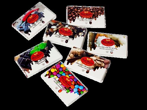 Mini Tabletes de Chocolate (Unidade)