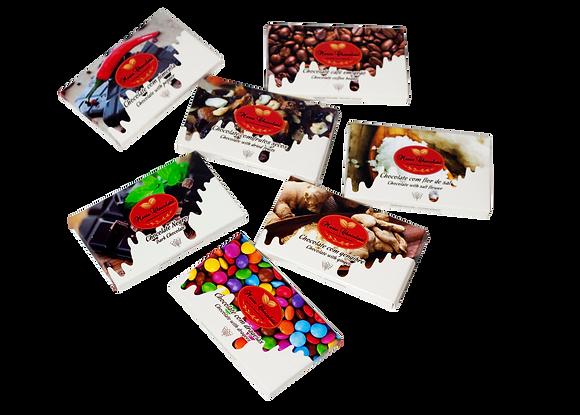 Mini Tabletes de Chocolate - vários sabores