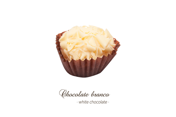 Brigadeiros Gourmet - Chocolate Branco