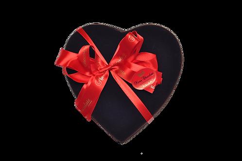 Caixa Prestige Coração - pralinés com ouro (15 bombons