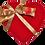 Thumbnail: Caixa Prestige Coração - pralinés com ouro (20 bombons)