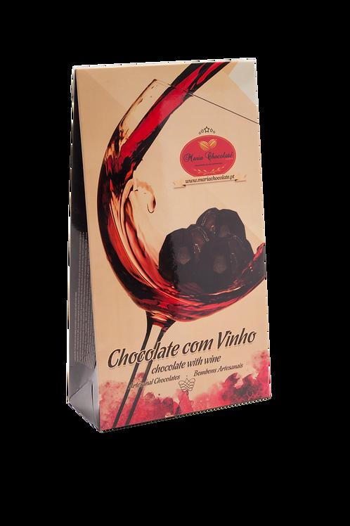 Caixa de Bombons com Recheio de Vinho