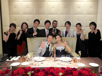 スタッフの結婚式へ