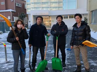 東京大雪⛄