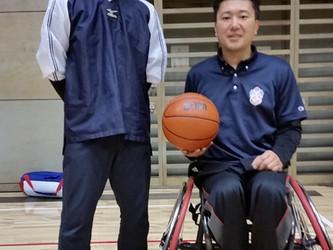 車椅子バスケット研修会