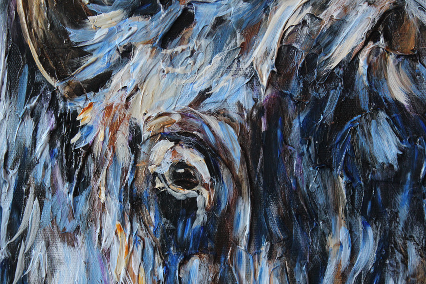 Frozen Bison - Detail 2