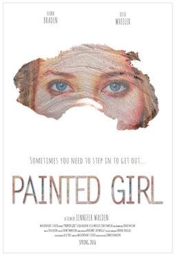 Painted Girl Poster