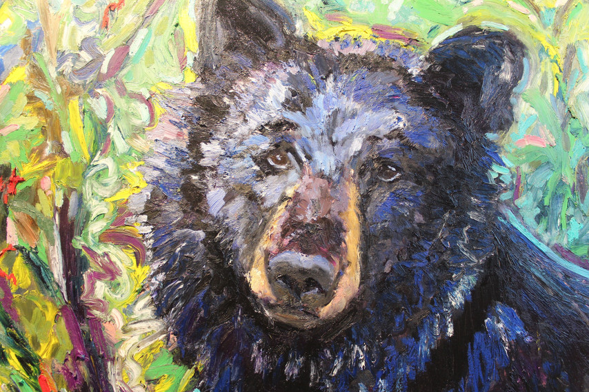"""BEAR (""""Hello, what are you doing here?"""") - Detail 1"""