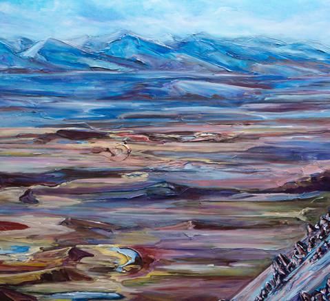 Atop Garnet Ridge - Detail 3