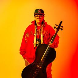 Cris Dersken - Cello - Orange - Facing Front