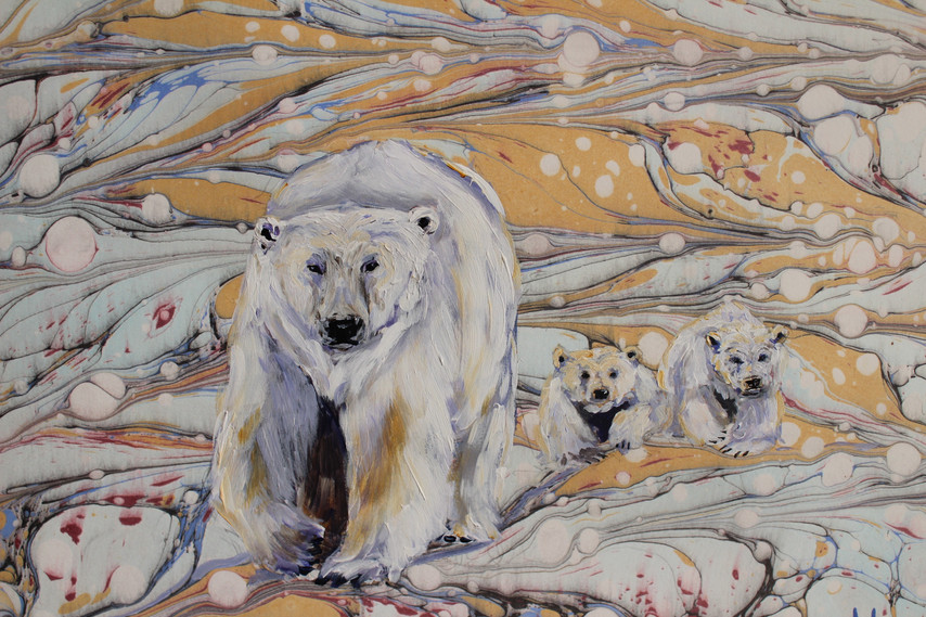 Bears on the Land - Detail 1