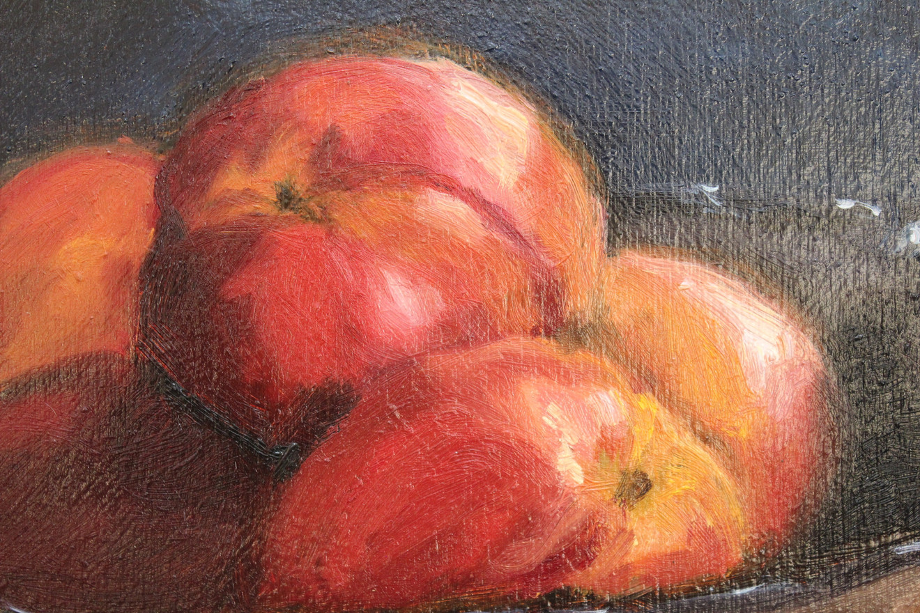 Nectarines in Glass - Detail 1