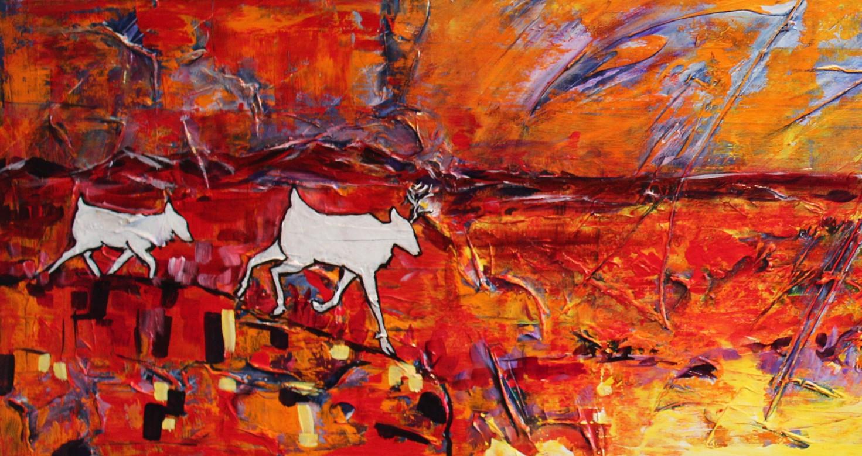 White Caribou - Detail