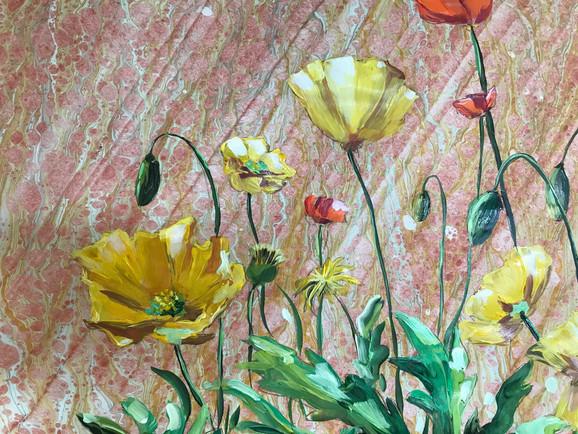 Wild Poppies - Detail