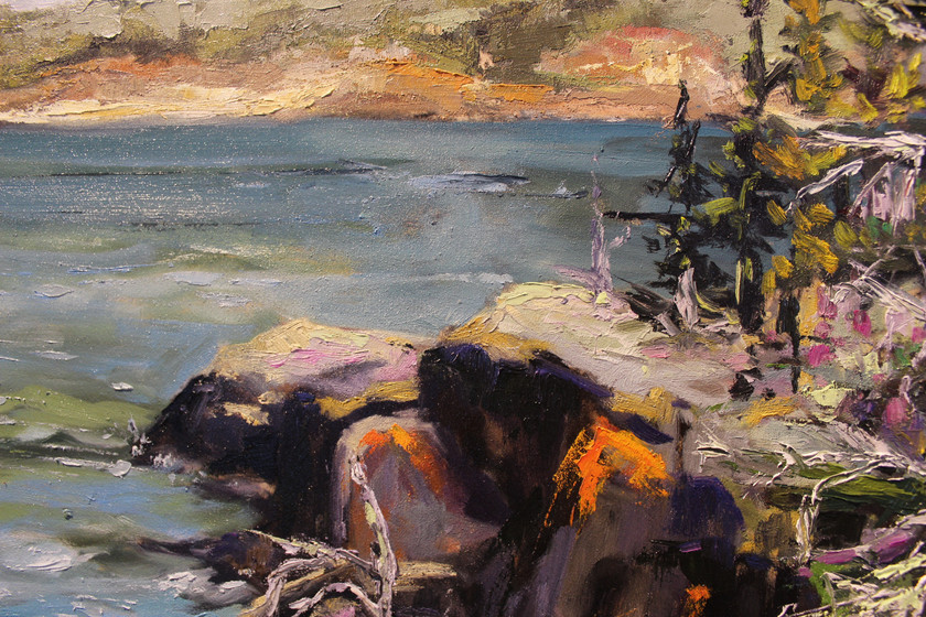 Afternoon on Blanchette Island - Detail