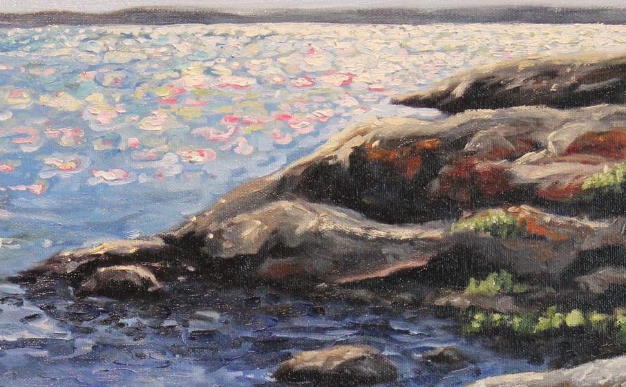 Mosher Island Swimming Hole - Detail