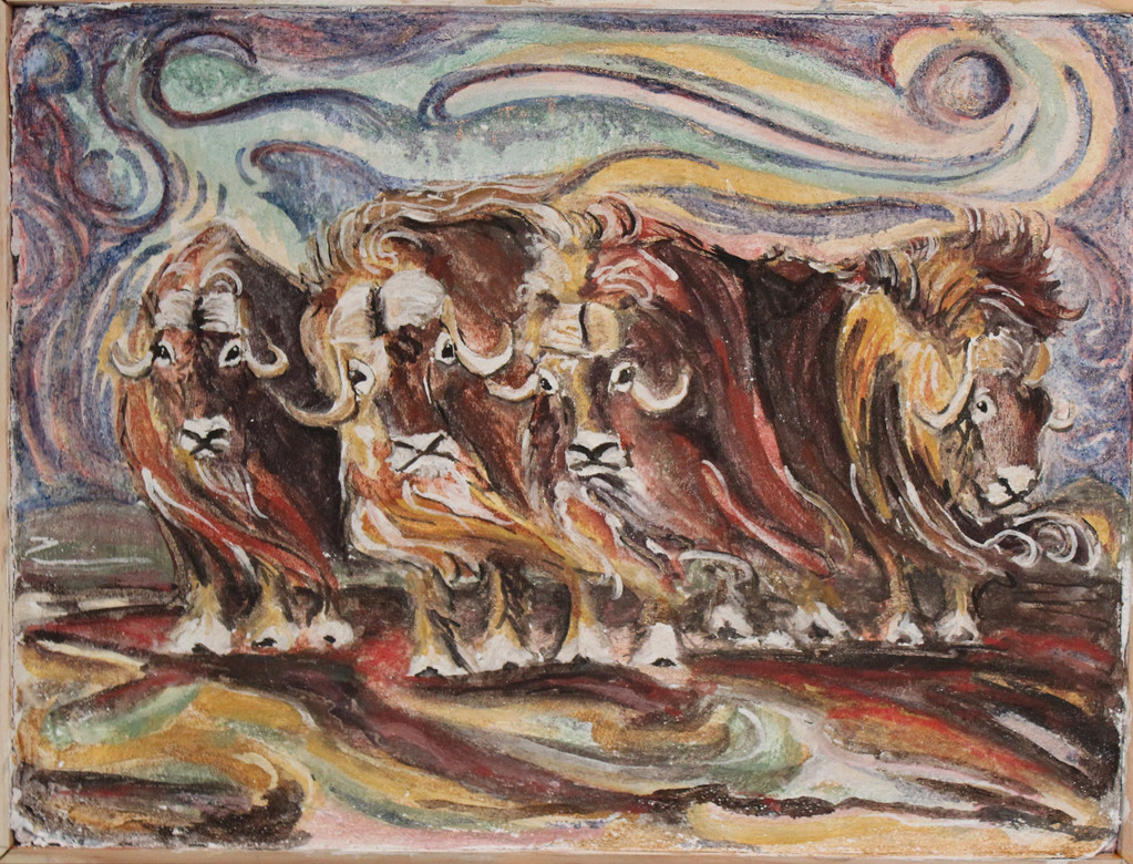 Muskox Fresco