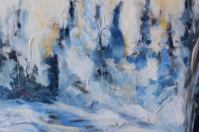 Frozen Bison - Detail 3