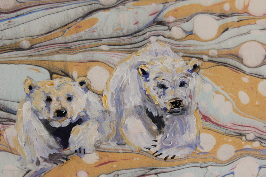 Bears on the Land - Detail 2