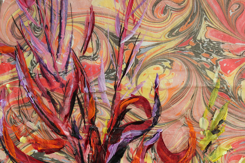 Fireweed Crinkle - Detail