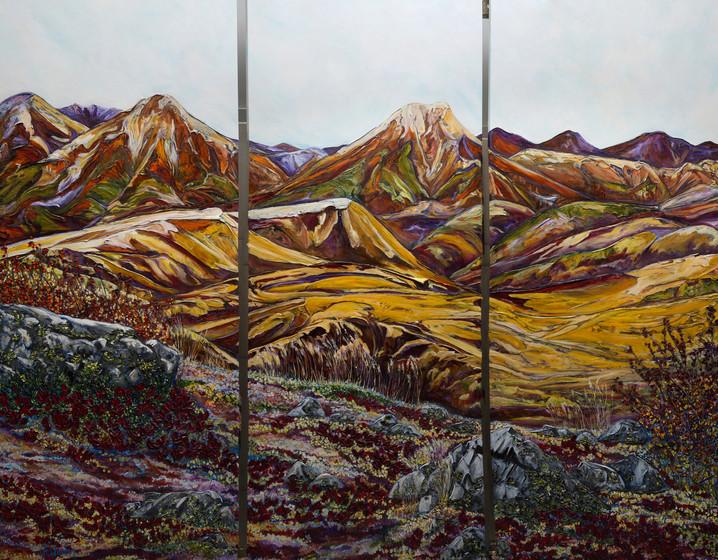 Hills of Dechen la