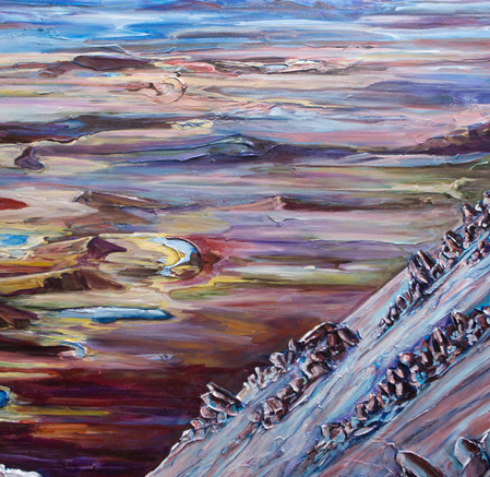 Atop Garnet Ridge - Detail 2