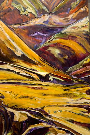 Hills of Dechen la - Detail 3