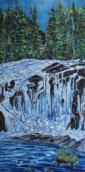 Little Cameron Falls - Detail 1