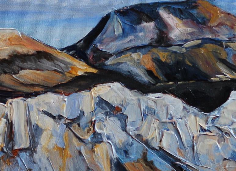 Mountain Ridge - Detail