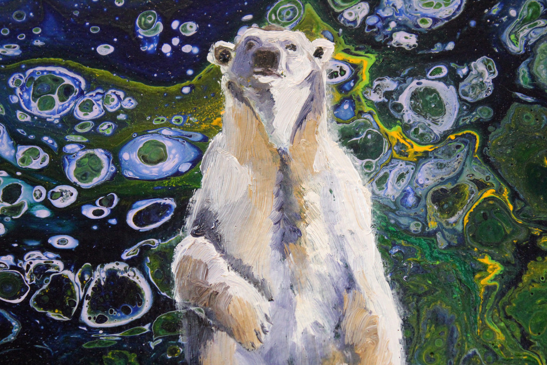 Bear at Night - Detail