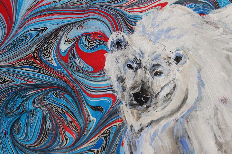 Polar Bear Swirl - Detail