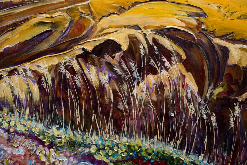 Hills of Dechen la - Detail 5