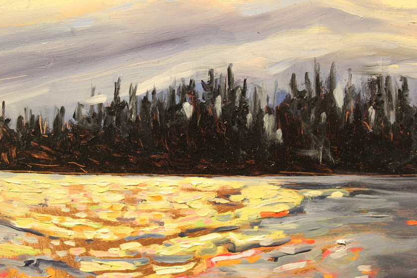 East Arm Evening - Detail 2