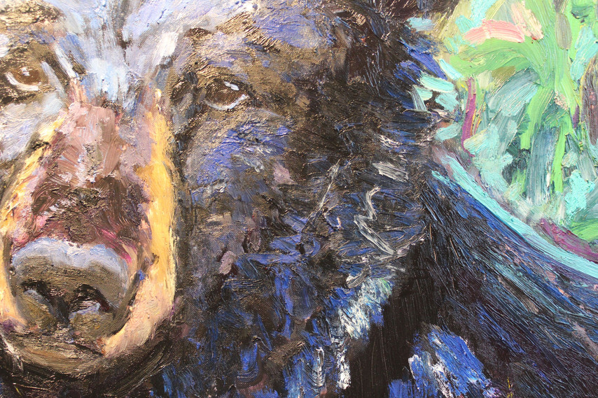 """BEAR (""""Hello, what are you doing here?"""") - Detail 2"""