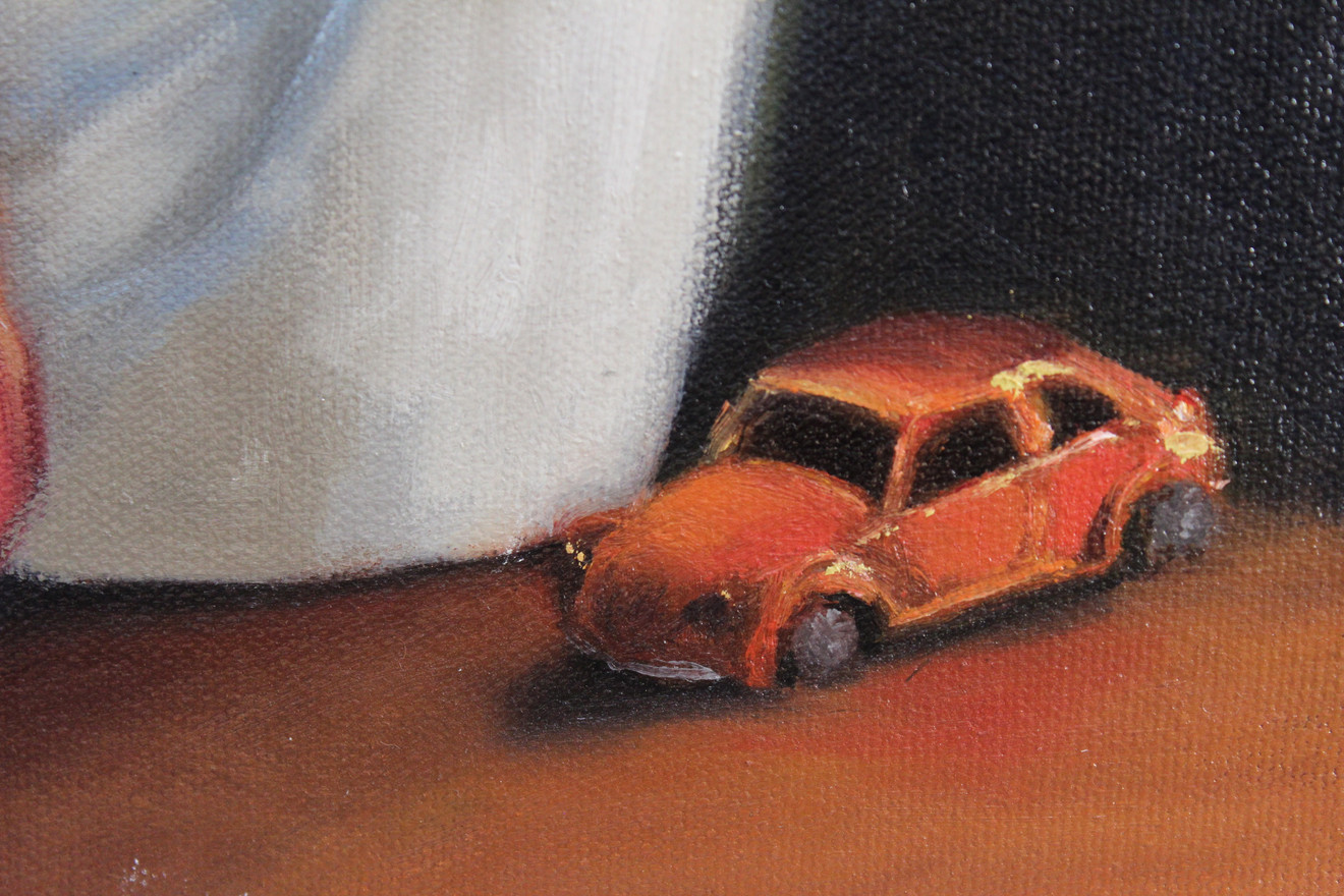 Apples and Hotwheels - Detail