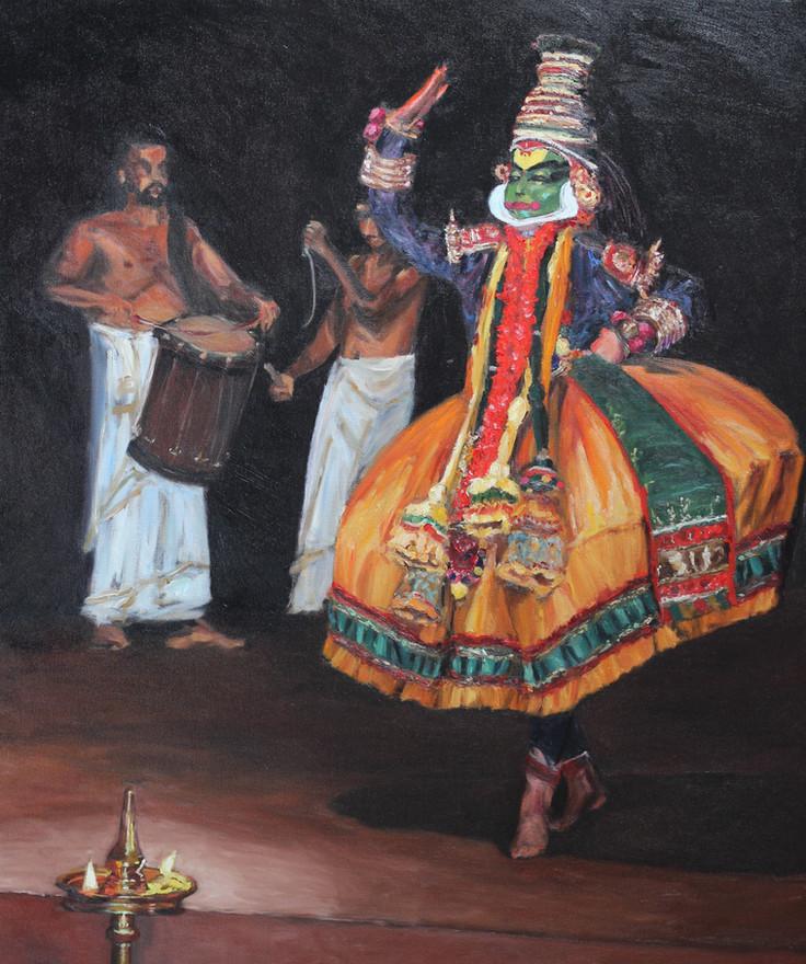 Kathakali Portrait