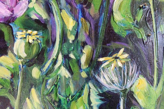 Susan's Poppies - Detail 1
