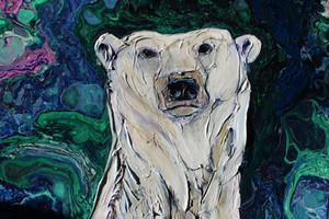 Mama Bear Under the Lights