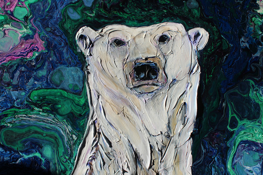 Mama Bear Under the Lights - Detail 1
