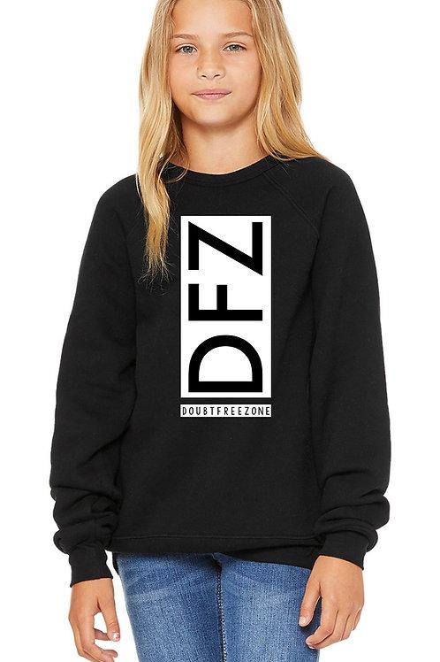 Youth DFZ Doubt Free Zone Crew Neck