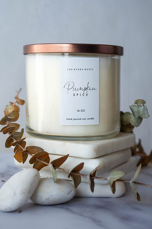 Pumpkin Spice Candle (16oz)