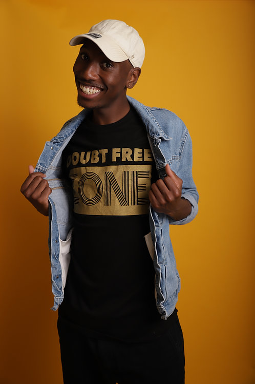 DOUBT FREE ZONE (Black &Gold)