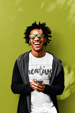 t-shirt-mockup-of-a-man-laughing-in-fron