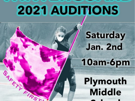 WINTERGUARD AUDITIONS ANNOUNCED