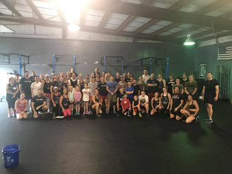 WOD 5/29/18 - Don't Stop Believing