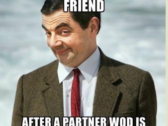WOD 10/22/16 - Partners!